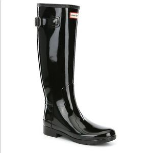 Hunter boots original refined gloss